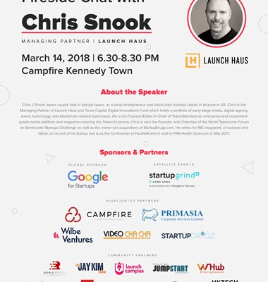 Startup Grind: Fireside Chat with Chris Snook